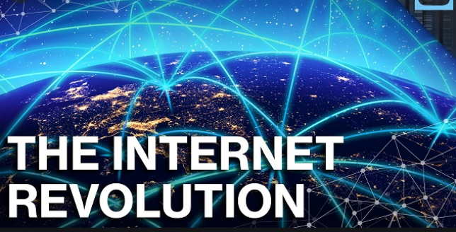 The internet revolution is leading us to a change of era