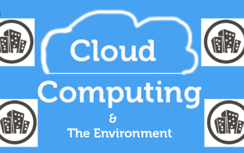 Cloud computing and the environment