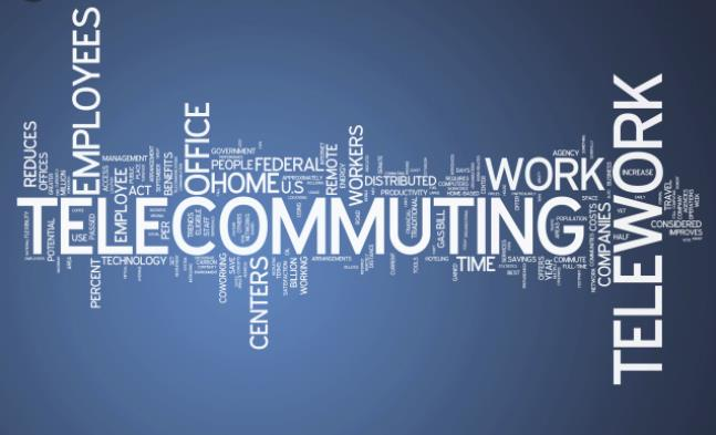 Tips for being productive while telecommuting