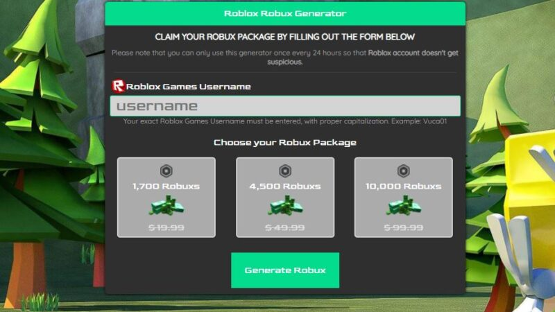 How To Use Free Robux Generator